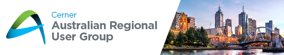 Australia Regional User Group 2018