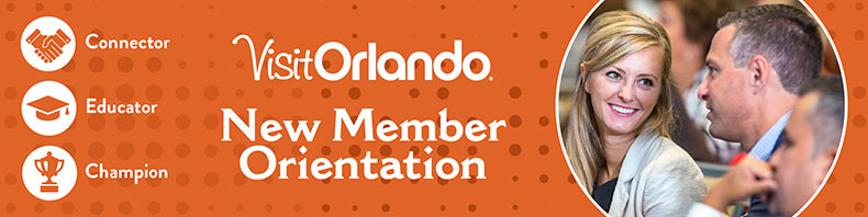 Visit Orlando New Member Orientation - July
