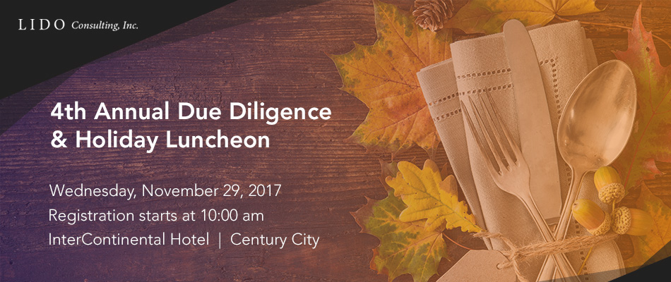 4th Annual Due Diligence & Holiday Luncheon