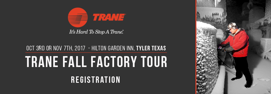 2017 Trane Fall Factory Tour