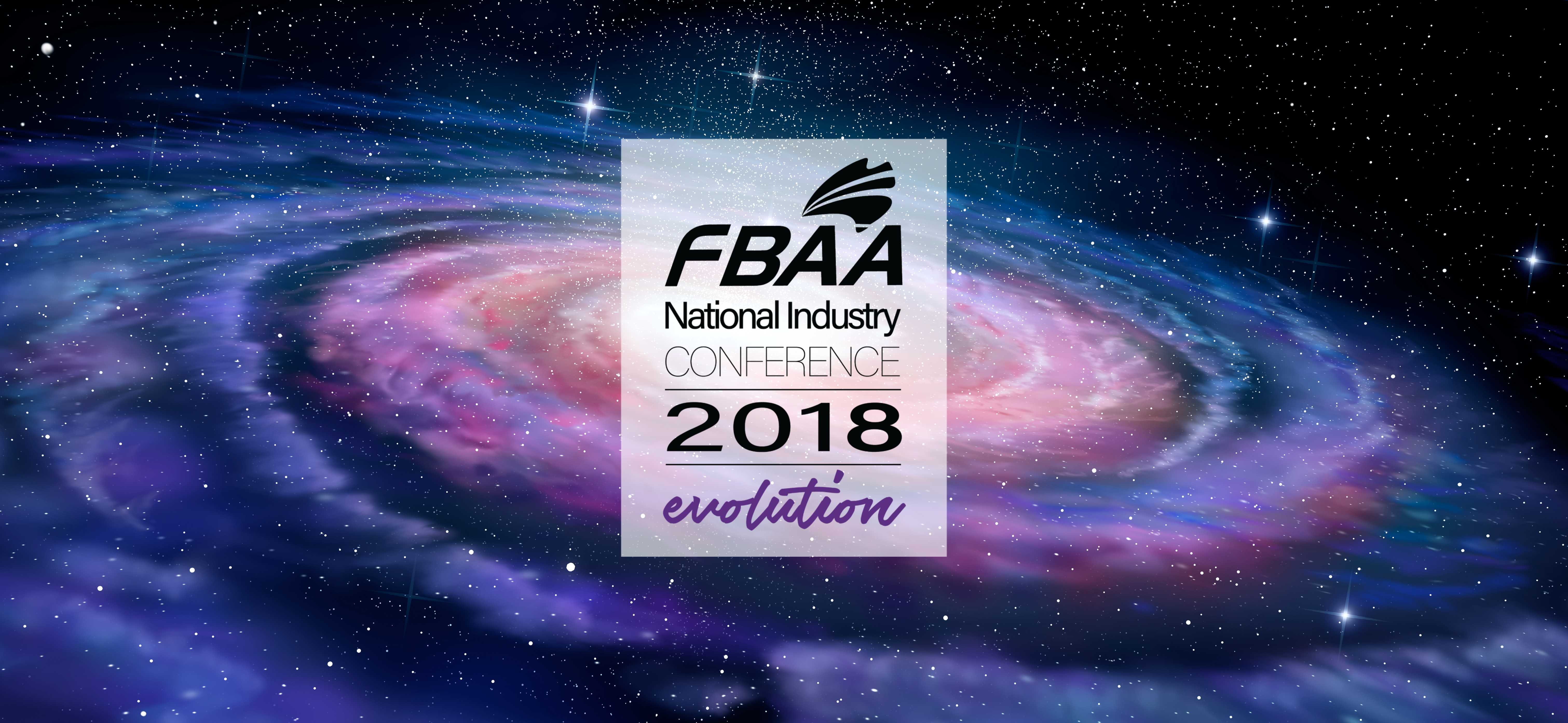 FBAA 2018 National Industry Conference  and Gala Dinner- Evolution
