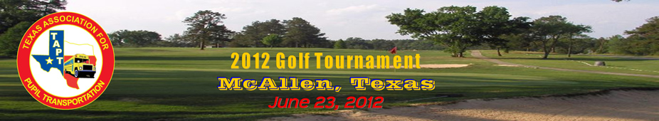 2012 McAllen Golf Tournament