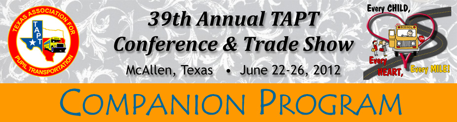 39th Annual Conference & Trade Show Companion Program