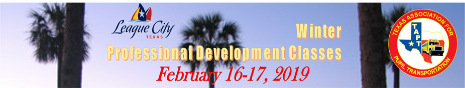 2019 League City Professional Development