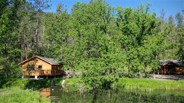 Cabins at The State Game Lodge