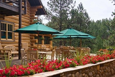 Blue Bell Lodge Patio