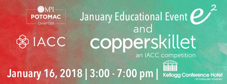 MPI Potomac's January Educational Event & Copper Skillet Competition