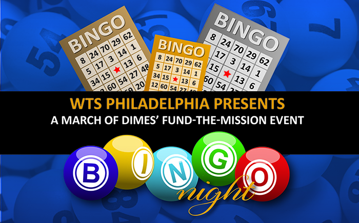 WTS Philadelphia's March of Dimes' Fund-the-Mission…BINGO!