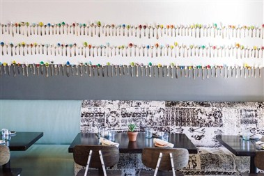Dining Room Spoon Wall
