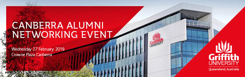 Griffith University Canberra Alumni Networking Event