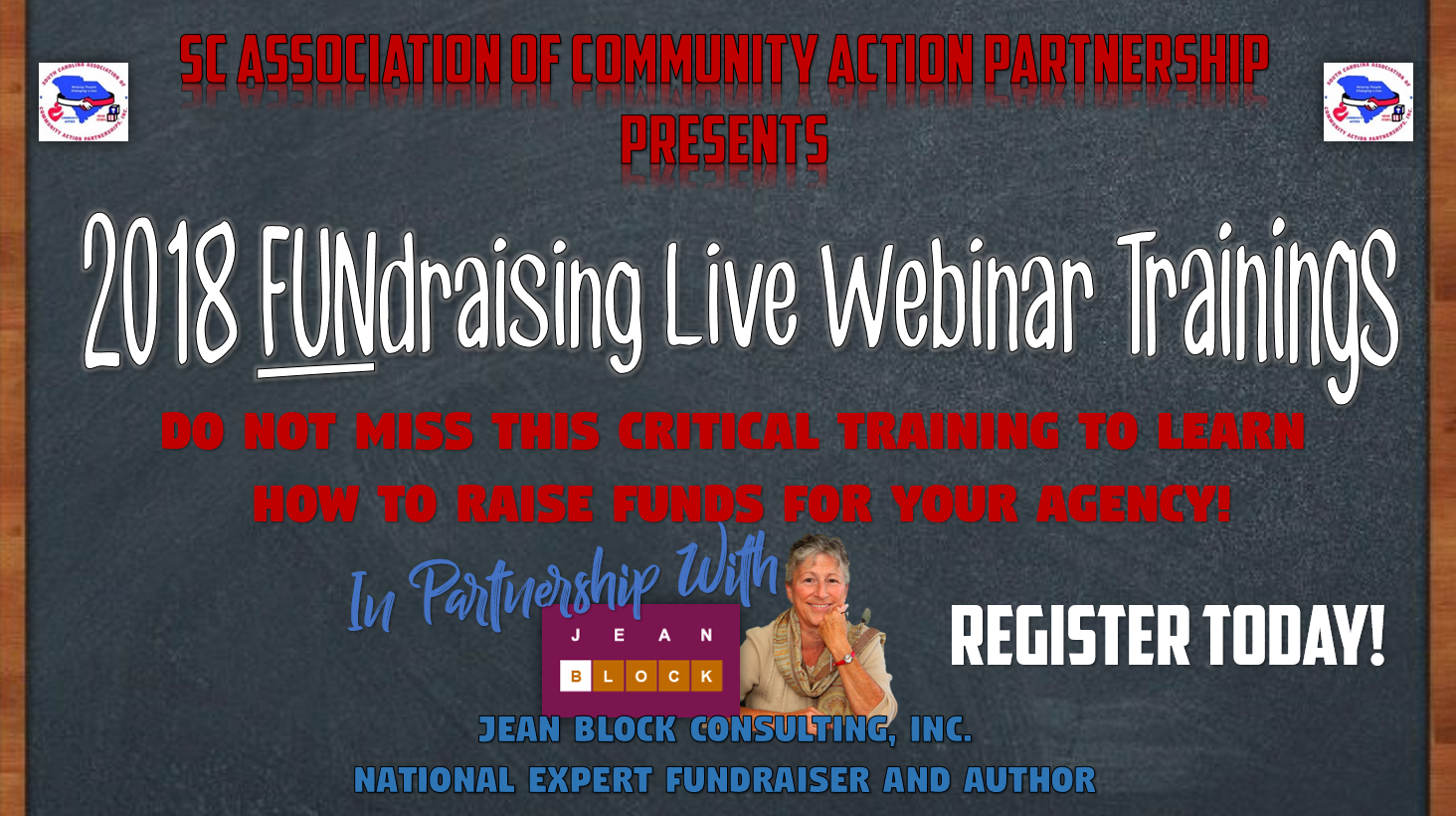 2018 Fundraising Live Webinar Training's for CAA's, Weatherization & Head Start