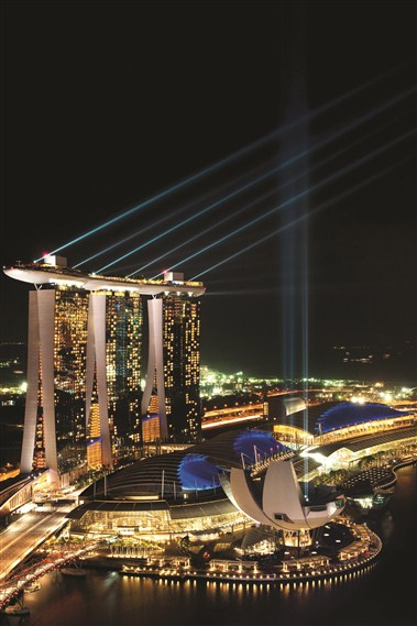 Marina Bay Sands Exterior 3