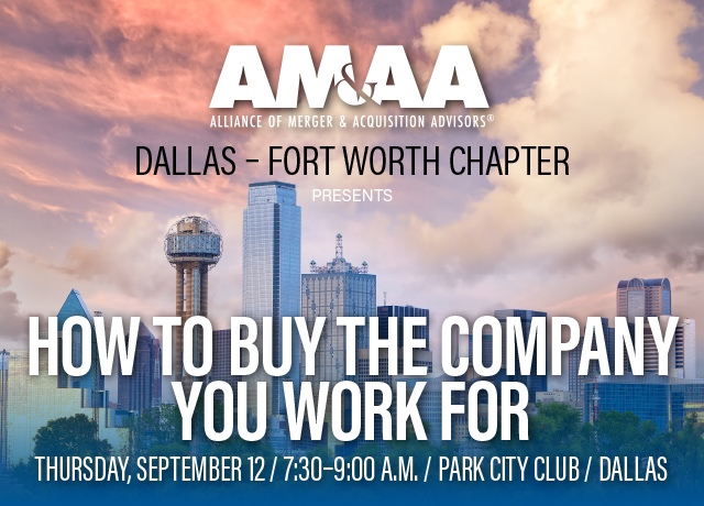 9.12.19 Dallas Chapter Meeting
