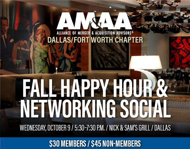 10.9.19 Dallas Chapter Meeting