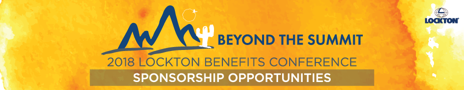 2018 Lockton Benefits Conference Sponsorship