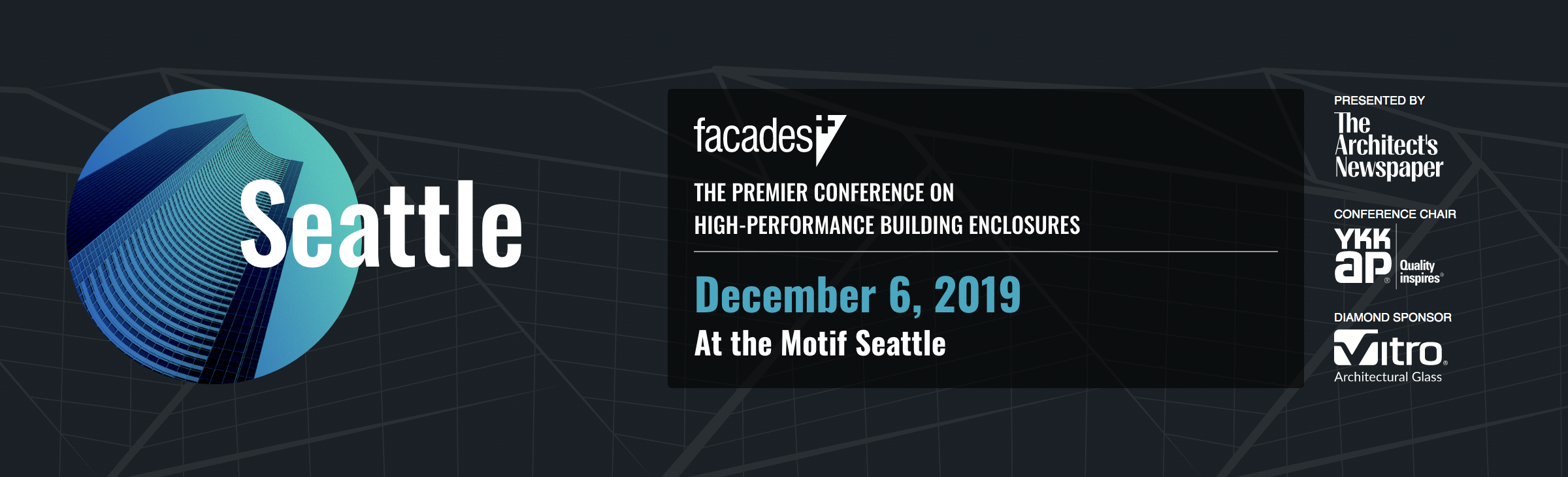 Facades+ Conference: Seattle 2019