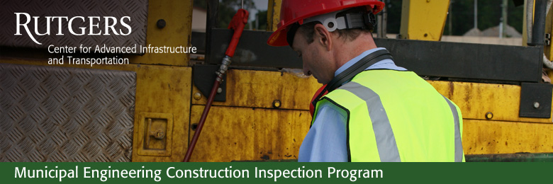 Municipal Engineering Construction Inspection Part Two (February 7, 14, and 21, 2018)