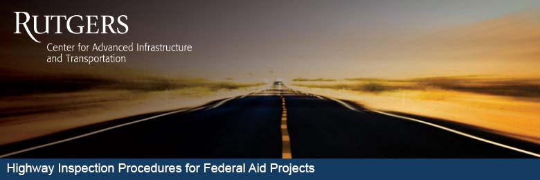 Highway Inspection Procedures for Federal Aid Projects--October 24, 2017