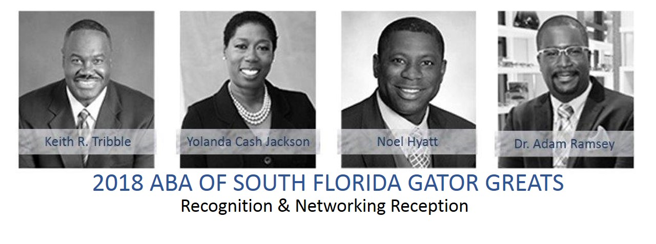 ABA South FL Gator Greats Recognition 2018