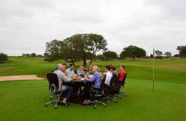 Golf Course Meeting