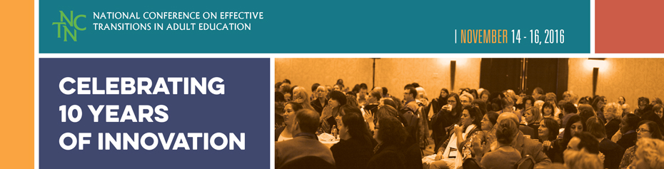 Effective Transitions in Adult Education Conference 2016