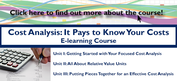 Cost Analysis: It Pays to Know Your Costs E-learning Course