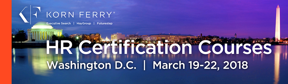 Korn Ferry Certifications - March 2018 | Washington D.C.