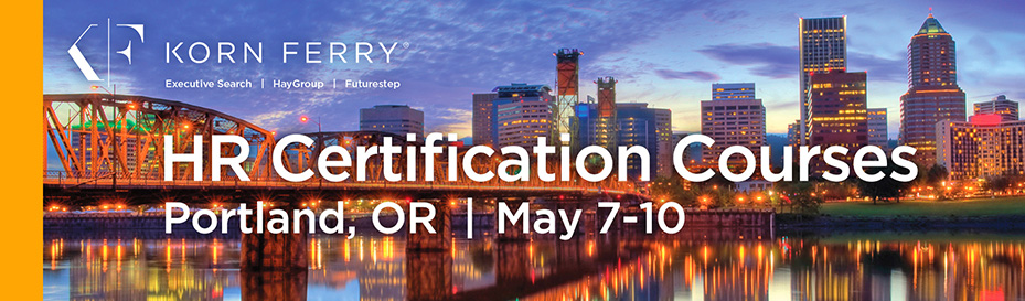 Korn Ferry Certifications - May 2018 | Portland, OR