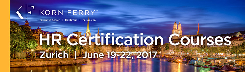 Korn Ferry Hay Group Certifications - June 2017 | Zurich