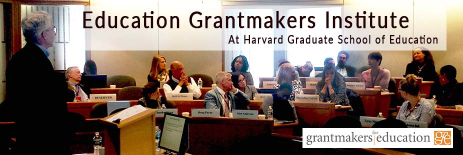 2018 Education Grantmakers Institute: Political and Social Equity in Education