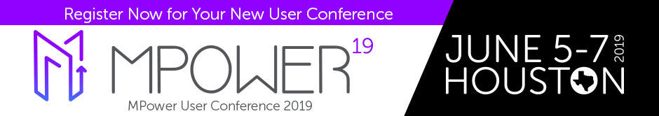 MPower User Conference 2019 - Houston, TX