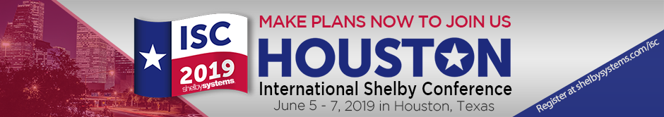 ISC 2019 - International Shelby Conference - Houston, TX