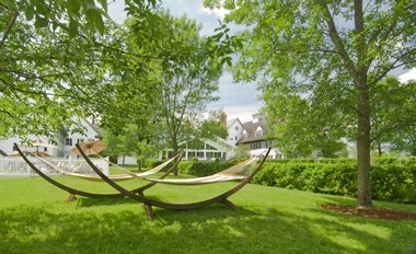 Relaxing garden Hammocks