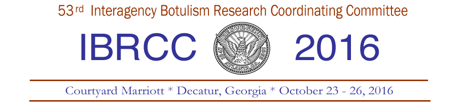 Interagency Botulism Research Coordinating Committee (IBRCC) Meeting 2016