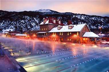 Glenwood Hot Springs Winter