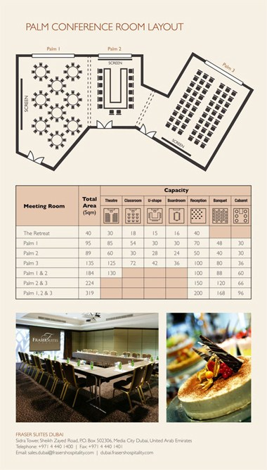 Meeting Room Floor Plan & Capacity