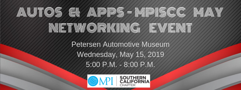 Autos & Apps – MPISCC May Networking Event