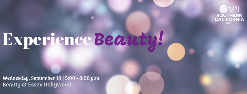 Experience Beauty! MPISCC September Networking Event