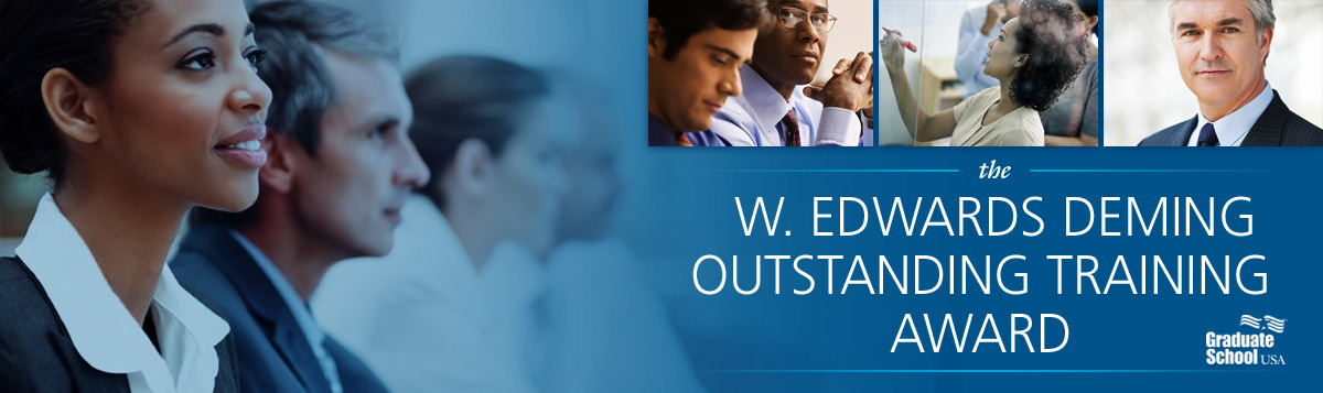 The W. Edwards Deming Outstanding Training Award