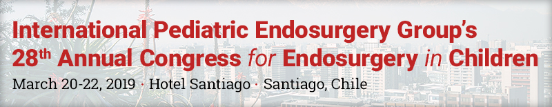 International Pediatric Endosurgery Group's 28th Annual Congress