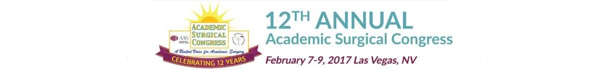 12th Annual Academic Surgical Congress (ASC)