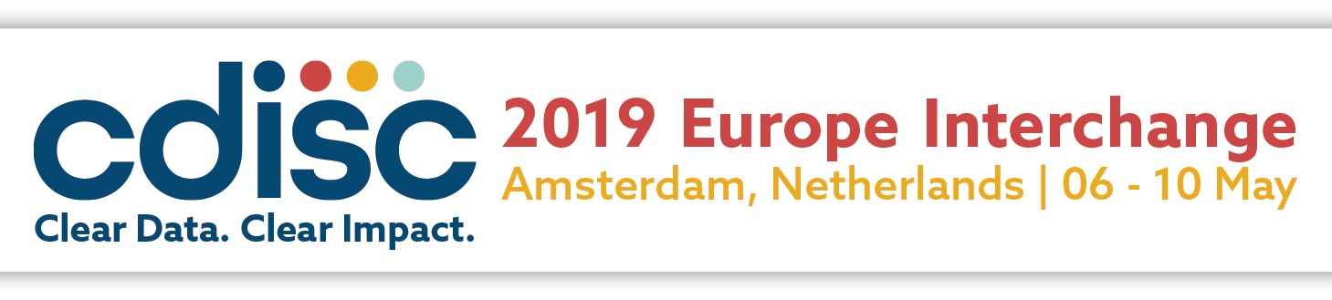CDISC 2019 Europe Interchange