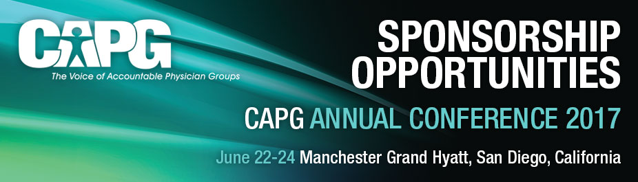 CAPG Annual Conference 2017 Sponsorship Sign-up