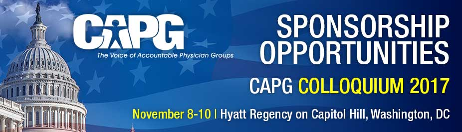 CAPG Colloquium 2017 Sponsorship Sign-up