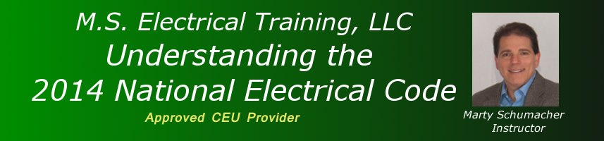 Understanding the 2014 National Electrical Code - 3 Hours - Landover, MD