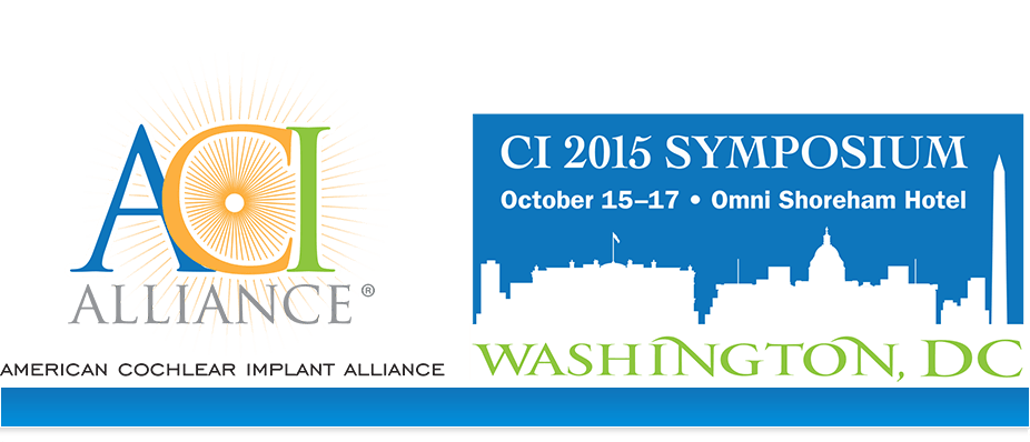 American Cochlear Implaint Symposium - October 15-17, 2015
