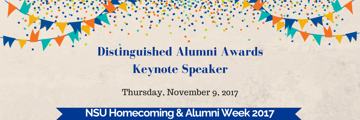 Distinguished Alumni Awards Keynote Speaker