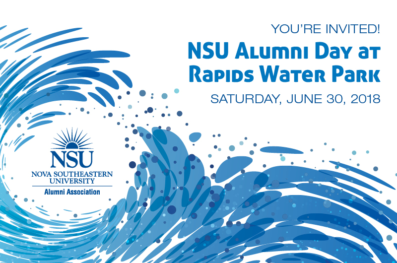 NSU Alumni Day at Rapids Water Park