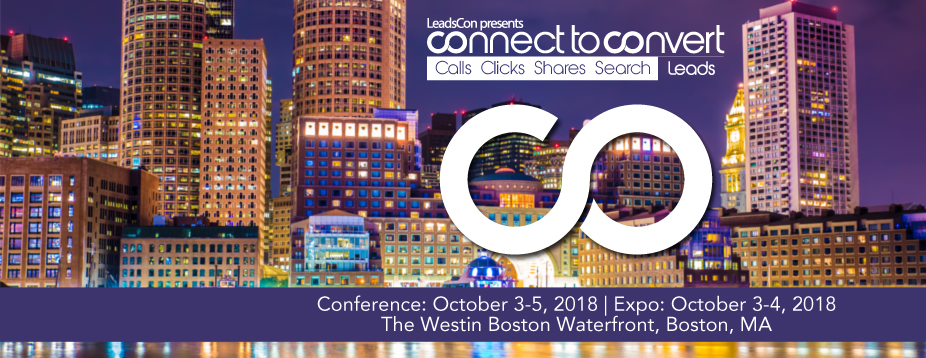 LeadsCon's Connect to Convert Boston 2018