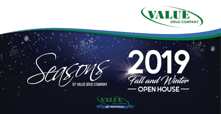 Seasons by Value Drug Company, 2019 Fall/Winter Open House